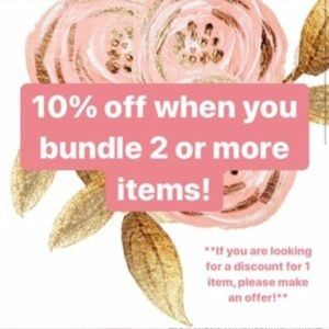Other - 10% off a bundle of 2 or more items!!!